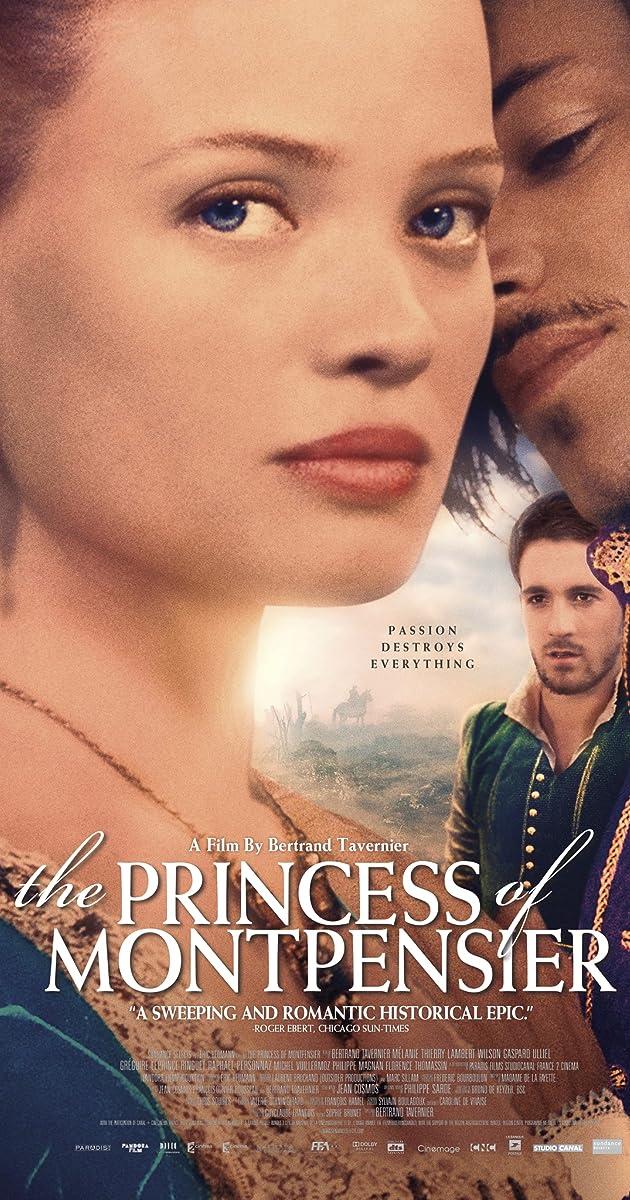 Princesė de Montpensje online