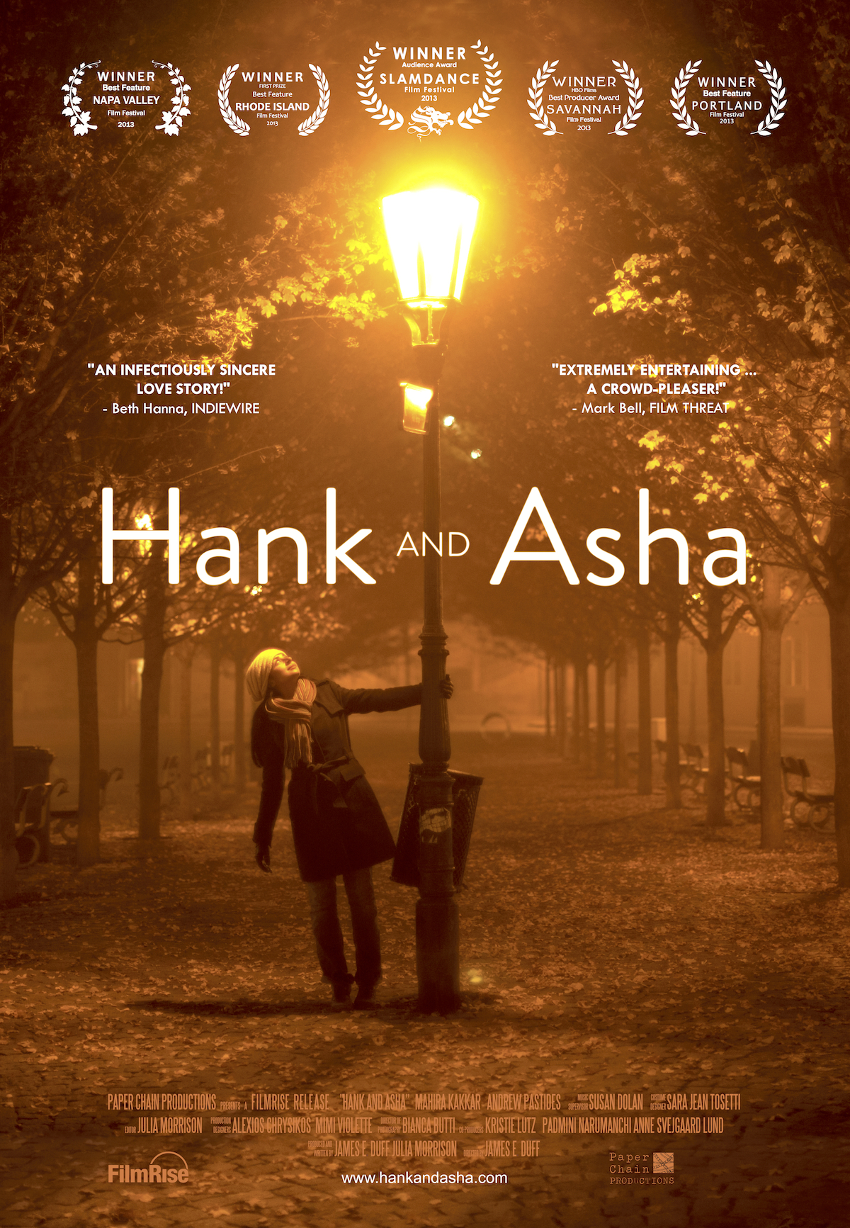 Hank and Asha Watch Full Movie Free Online