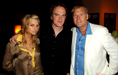 Quentin Tarantino, Ashlee Simpson, and Joe Simpson