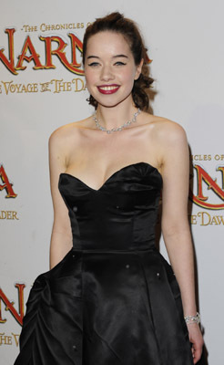 Anna Popplewell at an event for The Chronicles of Narnia: The Voyage of the Dawn Treader (2010)