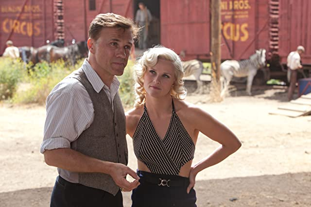 Reese Witherspoon and Christoph Waltz in Water for Elephants (2011)