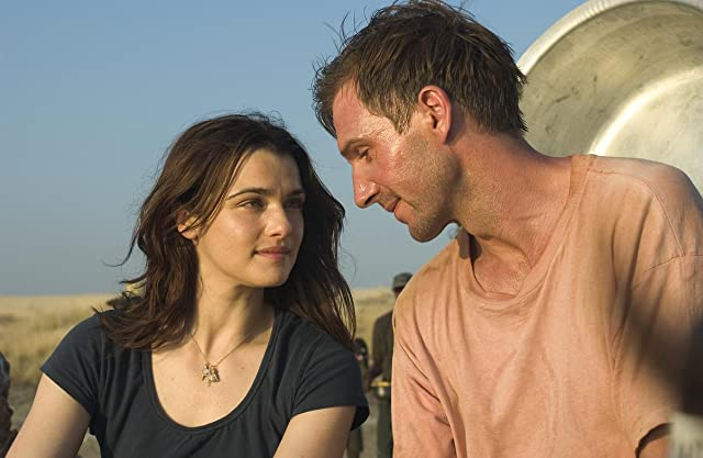Ralph Fiennes and Rachel Weisz in The Constant Gardener (2005)