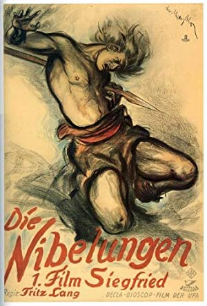 Die Nibelungen: Siegfried poster