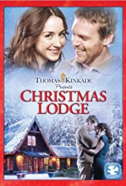 Christmas Lodge Poster