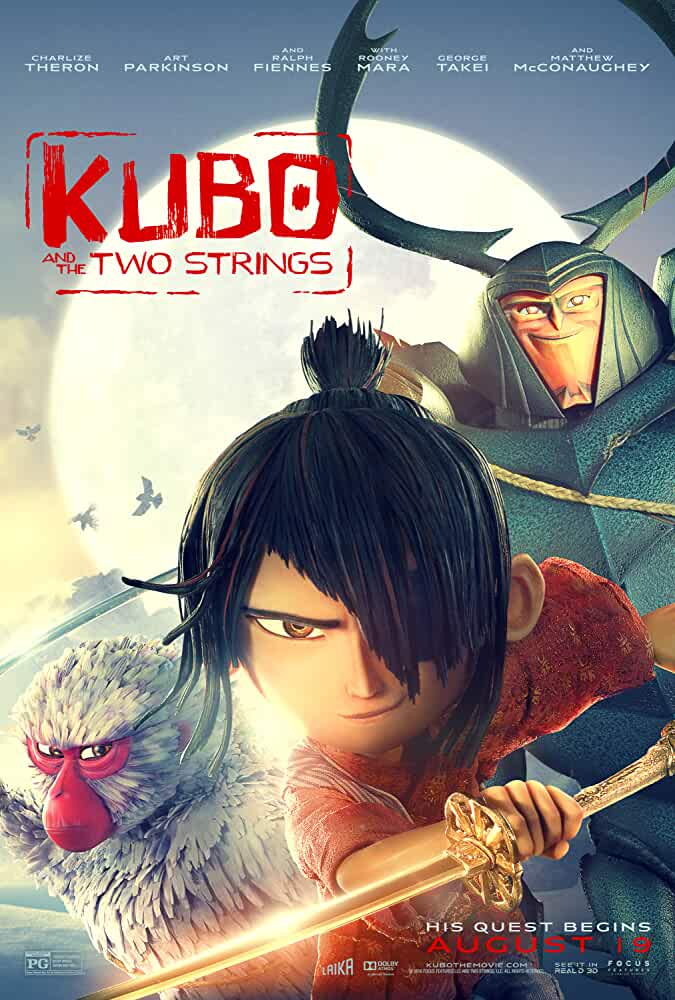 Kubo and the Two Strings 2016 720p BRRip Dual Audio watch online free download