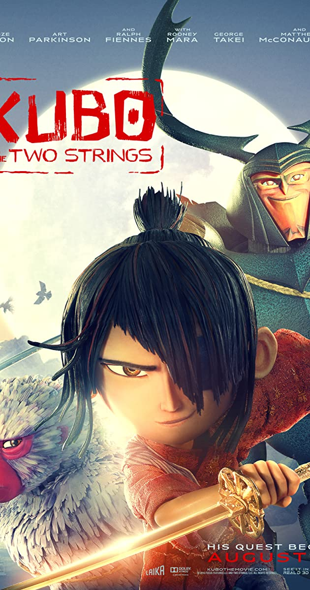 Kubo ir stebuklingas kardas / Kubo and the Two Strings (2016)