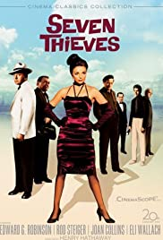 Seven Thieves (1960) Poster - Movie Forum, Cast, Reviews