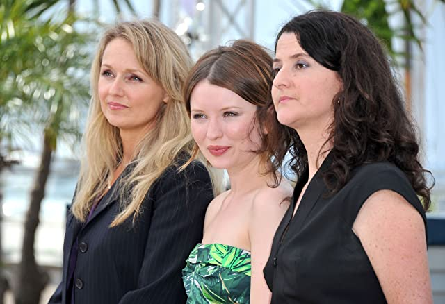 Rachael Blake, Emily Browning, and Julia Leigh