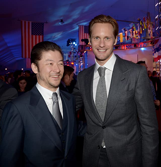 Alexander Skarsgård and Tadanobu Asano at Battleship (2012)
