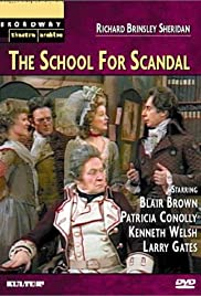 The School for Scandal Poster