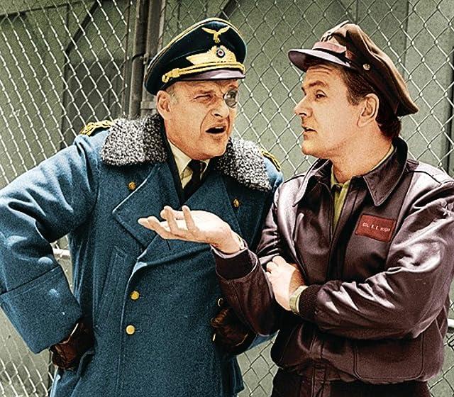 Bob Crane and Werner Klemperer in Hogan's Heroes (1965)