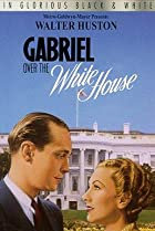 Image of Gabriel Over the White House