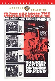 The Rise and Fall of Legs Diamond (1960) Poster - Movie Forum, Cast, Reviews