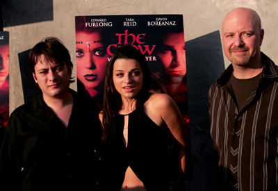 Edward Furlong, Rachael Bella, and Jeff Most at The Crow: Wicked Prayer (2005)