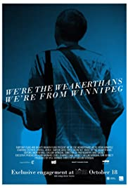 We're the Weakerthans, We're from Winnipeg Poster