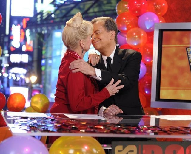 Dick Clark and Kari Clark in Dick Clark's New Year's Rockin' Eve with Ryan Secrest 2011 (2010)