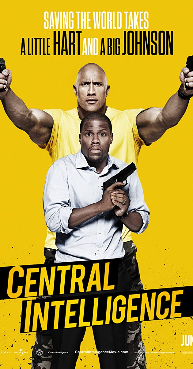 Image result for central intelligence poster