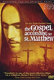 The Gospel According to St. Matthew Poster