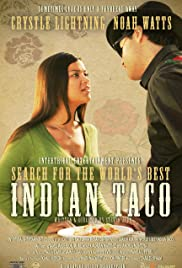 Search for the World's Best Indian Taco Poster
