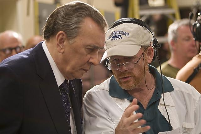 Ron Howard and Frank Langella in Frost/Nixon (2008)