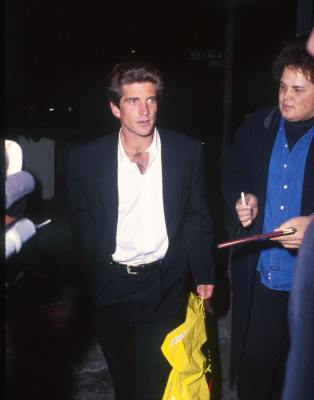 John Kennedy Jr. at Attack of the 50 Ft. Woman (1993)