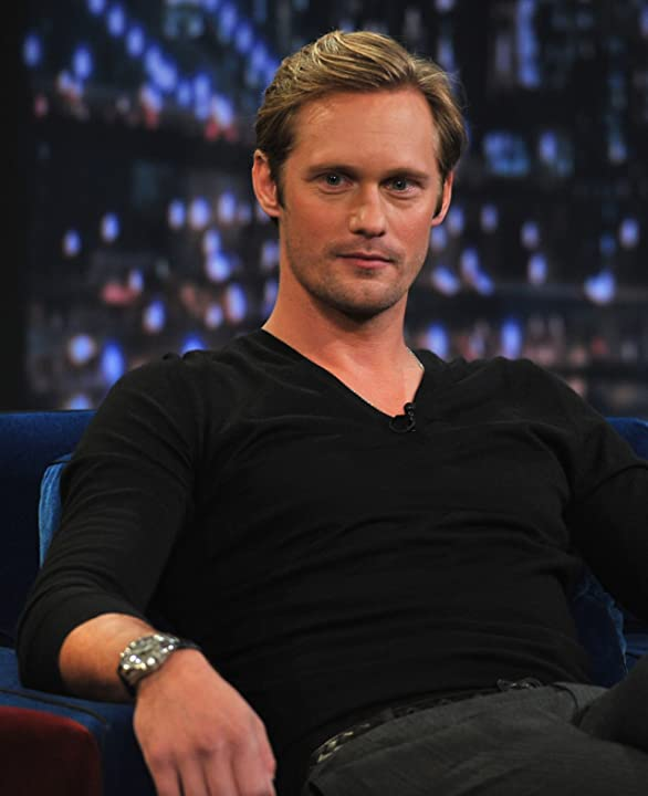 Alexander Skarsgård at an event for Late Night with Jimmy Fallon (2009)