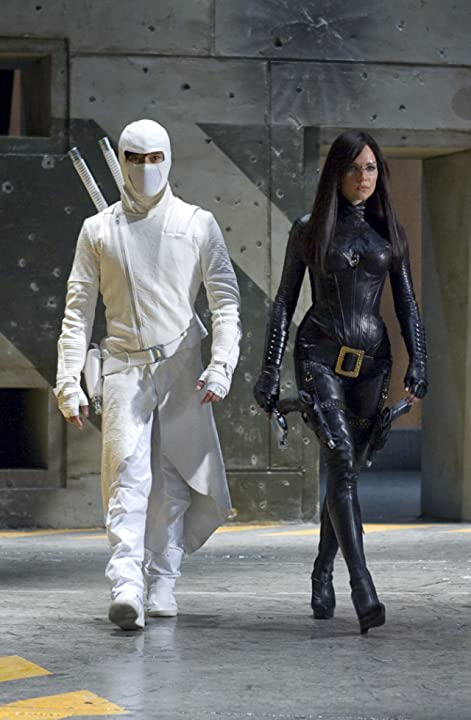 Byung-hun Lee and Sienna Miller in G.I. Joe: The Rise of Cobra (2009)