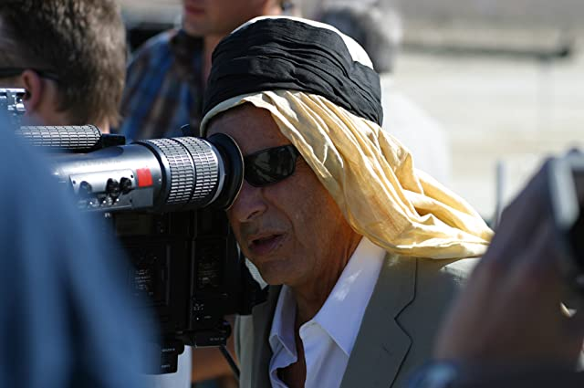 Al Pacino behind the camera directing Wilde Salome