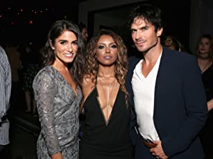 Kat Graham, Ian Somerhalder, and Nikki Reed
