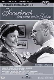 Sauerbruch - Das war mein Leben Poster