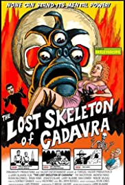 The Lost Skeleton of Cadavra (2001) Poster - Movie Forum, Cast, Reviews