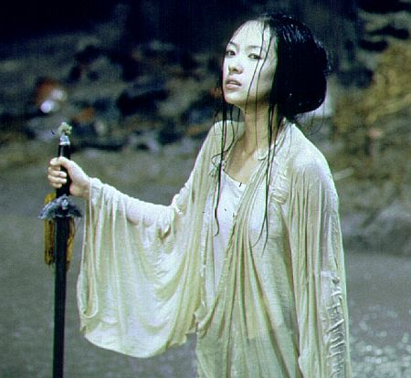 Ziyi Zhang in Crouching Tiger, Hidden Dragon (2000)