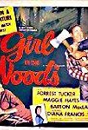 Girl in the Woods Poster