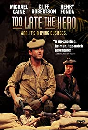 Too Late the Hero Poster