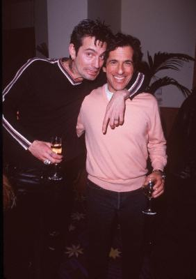 Tommy Lee and Peter Morton