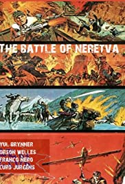 The Battle on the River Neretva Poster