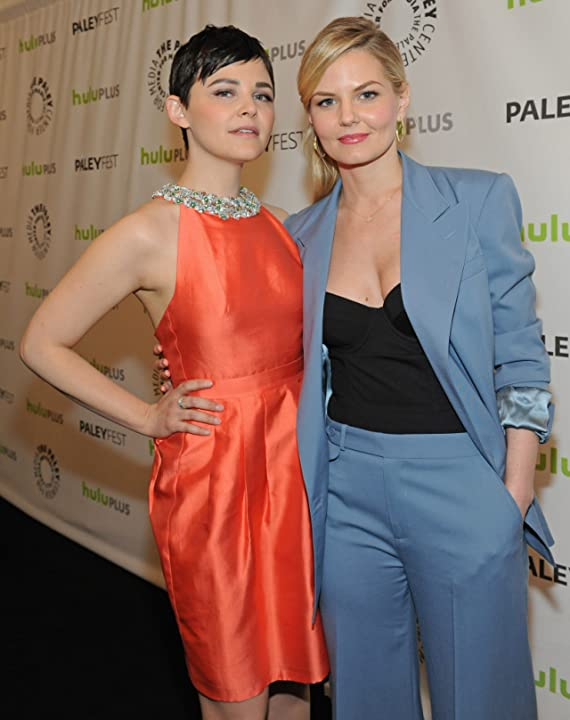 Ginnifer Goodwin and Jennifer Morrison at an event for Once Upon a Time (2011)