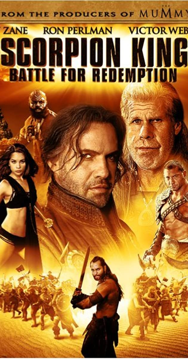 the scorpion king 3 battle for redemption video 2012 imdb