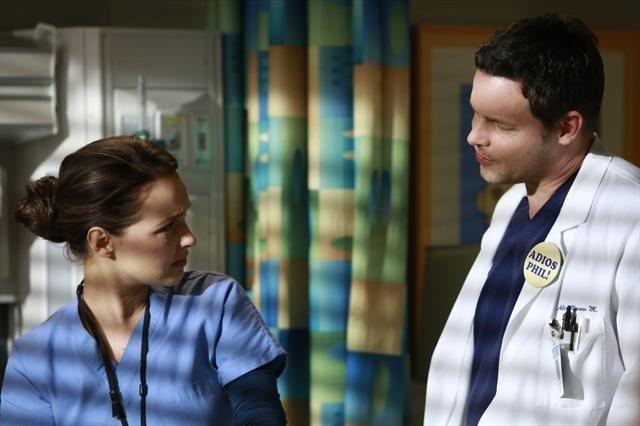 Justin Chambers and Camilla Luddington in Grey's Anatomy (2005)