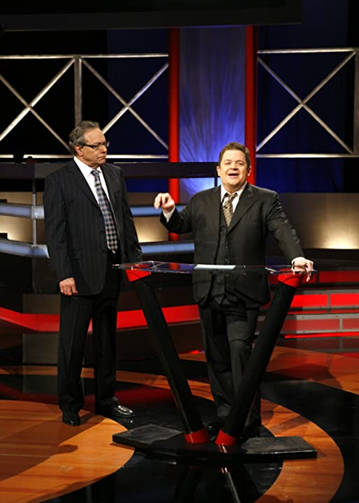 Lewis Black and Patton Oswalt in Root of All Evil (2008)