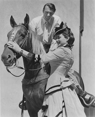 Gary Cooper & Ingrid Bergman