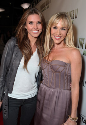 Julie Benz and Audrina Patridge at an event for The Boondock Saints II: All Saints Day (2009)