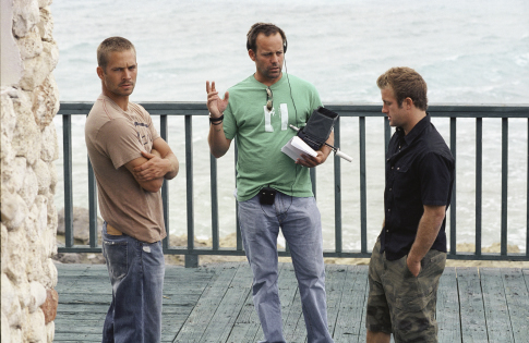 Scott Caan, John Stockwell, and Paul Walker in Into the Blue (2005)