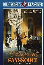 The Flute Concert of Sans-Souci Poster