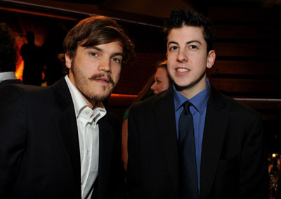 Emile Hirsch and Christopher Mintz-Plasse