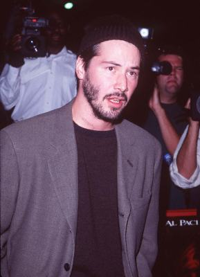 Keanu Reeves at The Devil's Advocate (1997)