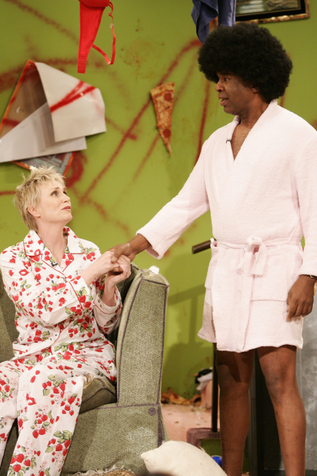 David Alan Grier and Jane Lynch in Thank God You're Here (2007)
