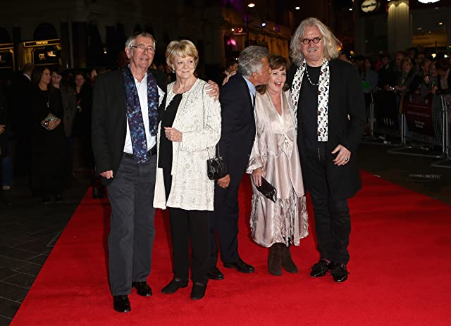 Dustin Hoffman, Maggie Smith, Pauline Collins, Billy Connolly, and Tom Courtenay at Quartet (2012)