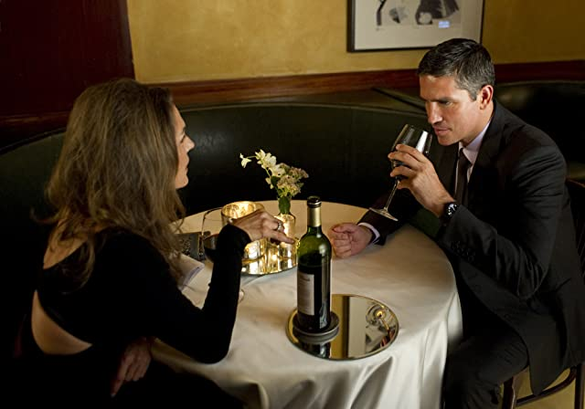 Jim Caviezel and Paige Turco in Person of Interest (2011)