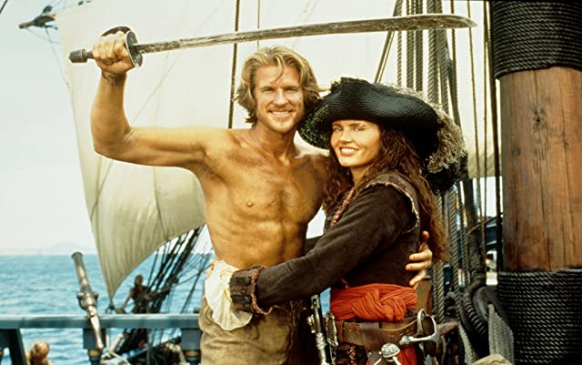 Geena Davis and Matthew Modine in Cutthroat Island (1995)